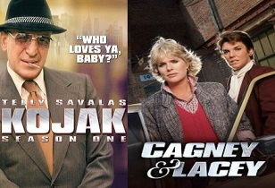 Kojak - Cagney and Lacey 70pc